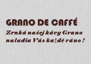 Grano de Caffé - Cvičná firma