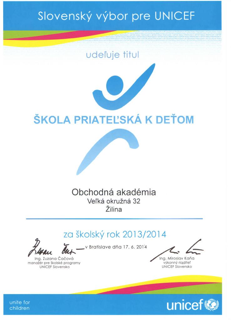 OAVOZA_Skola_priatelska_k_detom_2013_2014