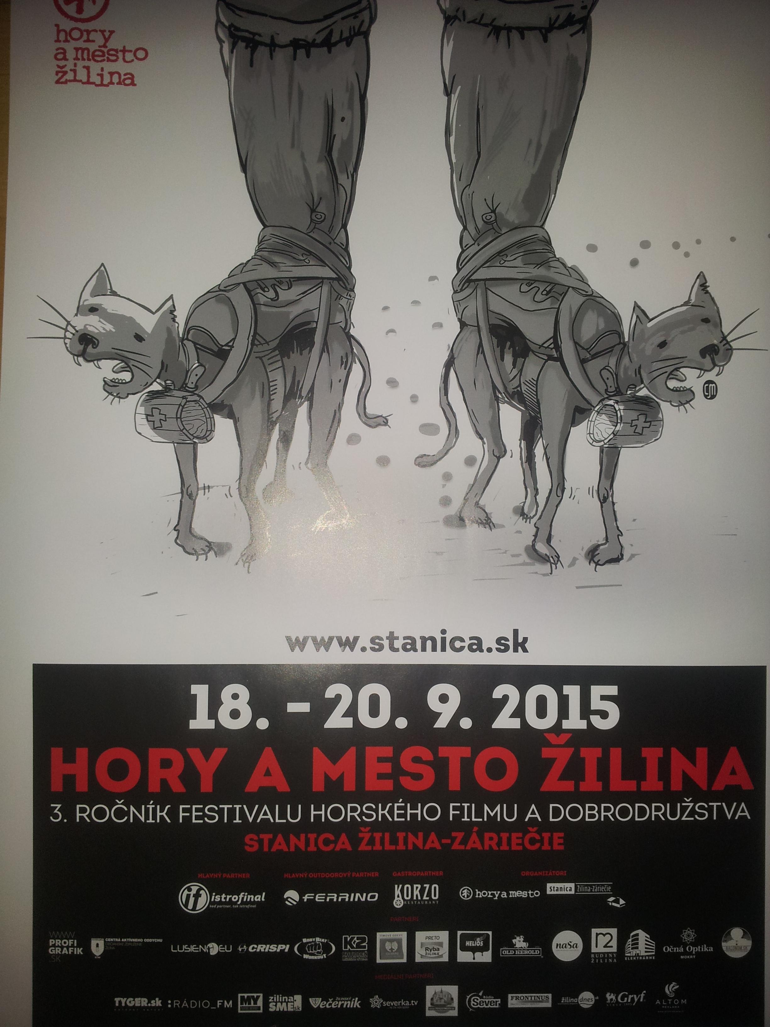 V rámci 3. ročníka festivalu horského filmu a dobrodružstva sa žiaci I.A a  I.C triedy pod vedením Ing. L. Synákovej 1fddd6371de